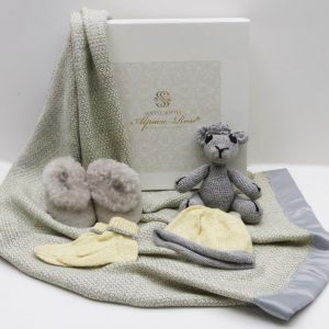 Luxury Alpaca Baby Gift Box - Alpaca Products