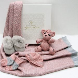 Luxury Baby Gift Box - Alpaca products