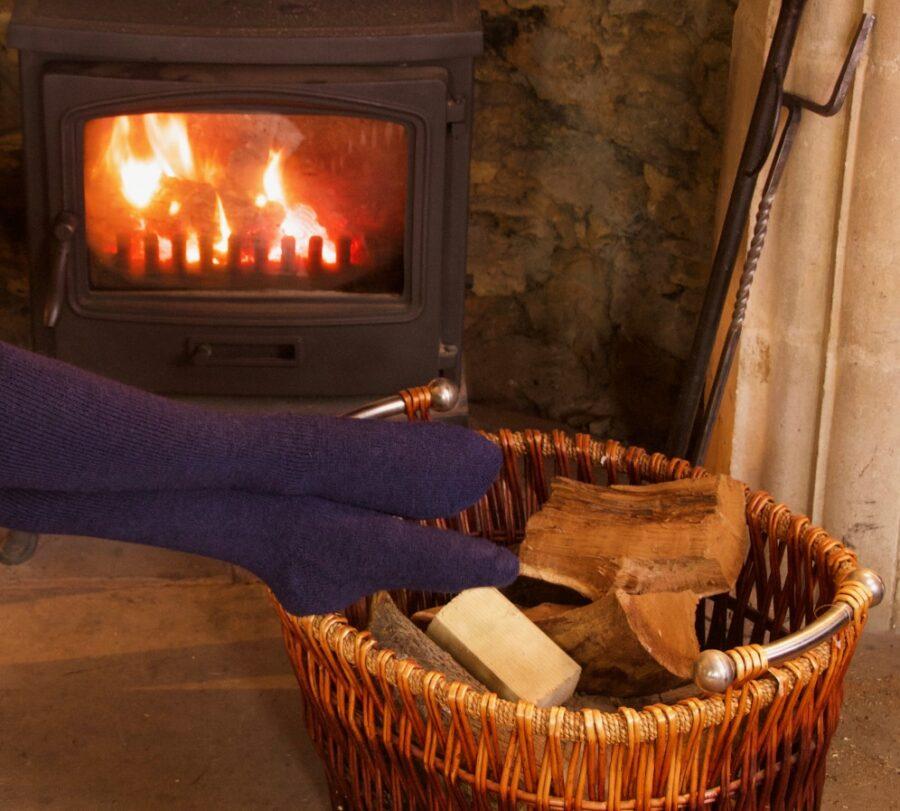 Softly Women's Alpaca Boot Socks