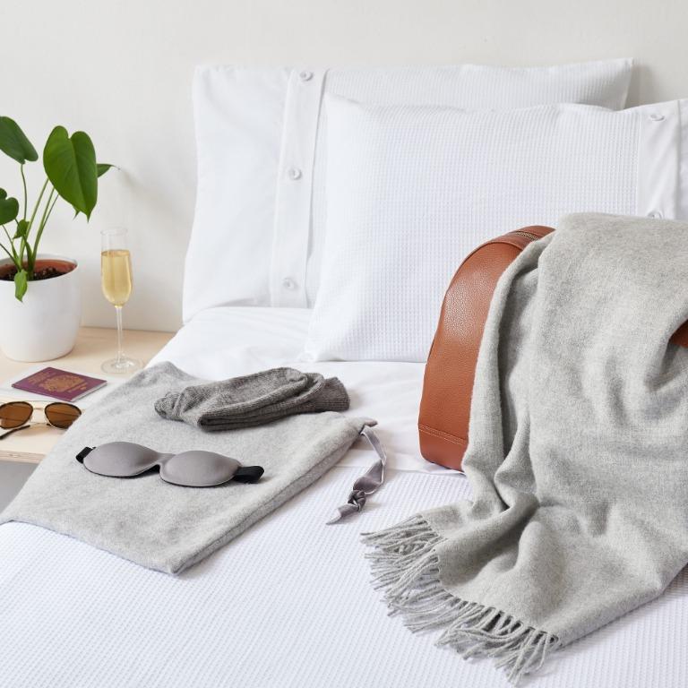 Softly Luxury Alpaca Travel Set